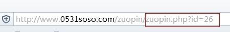 网站动态url示例